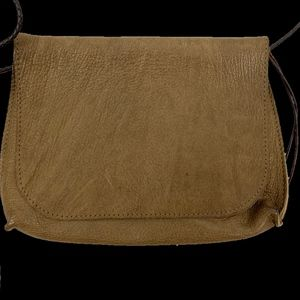 b may Bags - Strappy Foldover in Hazel French Goat by b.may